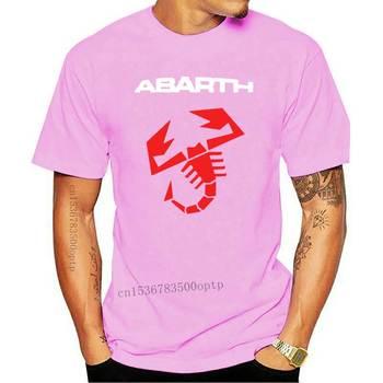 Nowa letnia męska koszulka samochód Abarth Logo drukowanie Harajuku z krótkim rękawem bawełna wysokiej jakości męska koszulka + spodenki tanie i dobre opinie CASUAL SHORT CN (pochodzenie) COTTON Cztery pory roku Na co dzień Z okrągłym kołnierzykiem tops Z KRÓTKIM RĘKAWEM