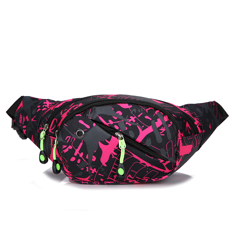2019 поясная сумка на пояс, Женская Повседневная сумка на пояс для путешествий, женская модная нейлоновая водонепроницаемая сумка через
