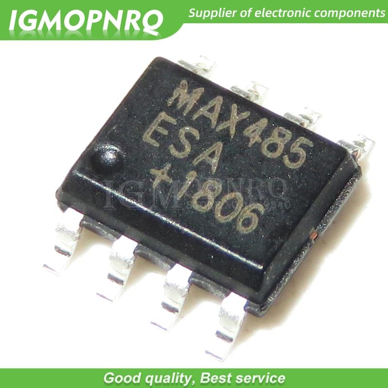5PCS MAX485 IC TXRX RS485//RS422 8-DIP NEW MAX485EPA GOOD QUALITY