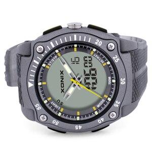 Image 4 - Часы наручные мужские с хронографом, Цифровые Кварцевые водонепроницаемые до 100 м