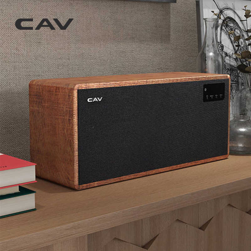 "Cav AT60 Bluetooth Speaker Draagbare Speaker Subwoofer Houten Kolom Bluetooth Diepe Bass Speaker 5.25 ""Woofer 4 Eq"
