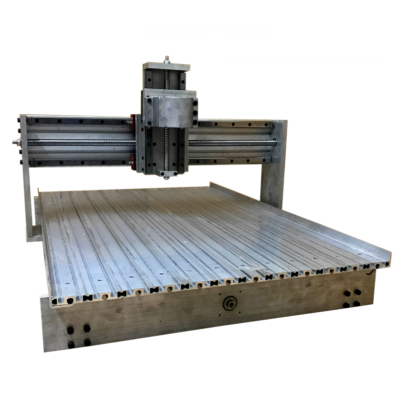 6090 Linear Guideway Linear Rail CNC Router Frame Engraving Drilling And Milling Machine