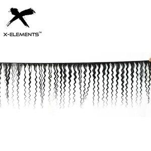 """Image 2 - Onda profonda Bundles 100% Dei Capelli Umani Bundles Brasiliano Capelli intrecciati 1/3/4 Bundles capelli Non Remy Colore Naturale 8 """" 26"""" Estensioni dei capelli"""