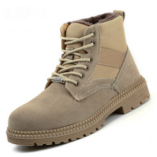 Защитная обувь со стальным носком, защитная обувь для мужчин, рабочая обувь, Мужская дышащая сетка, Размер 11, износостойкая обувь, DXZ0Z0