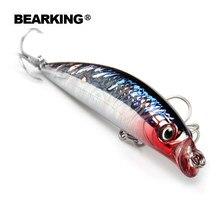 Leurres de pêche A + avec système à aimant, 5 unités par lot, minnow suspendu, avec système à aimant, 90mm et 10g, plongée 0.5m, modèle à tendance
