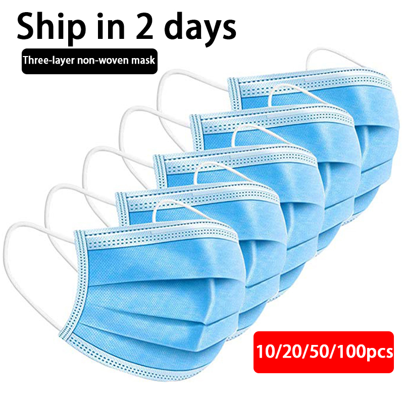 For Mouth Safety Face Mask Anti Dust Air Pollution Pm2.5 Influenza Bacteria Flu Germ Disposable Masks Face Care