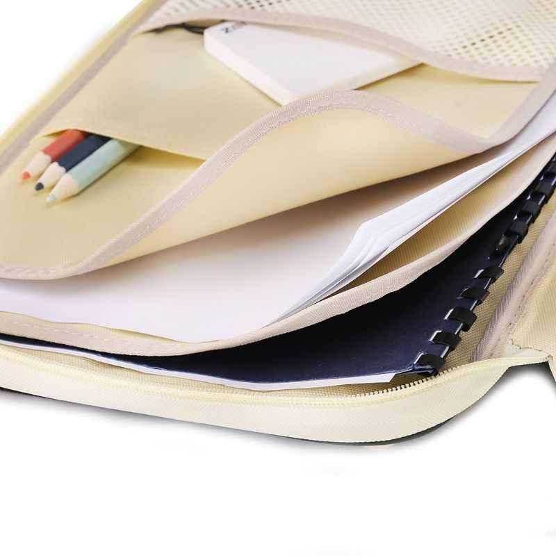 """A4 ドキュメントラップトップスリーブバッグケース Macbook Air は Pro の 11 """"12"""" 13 """"14"""" フォルダ文書の主催者ファイルフォルダ"""