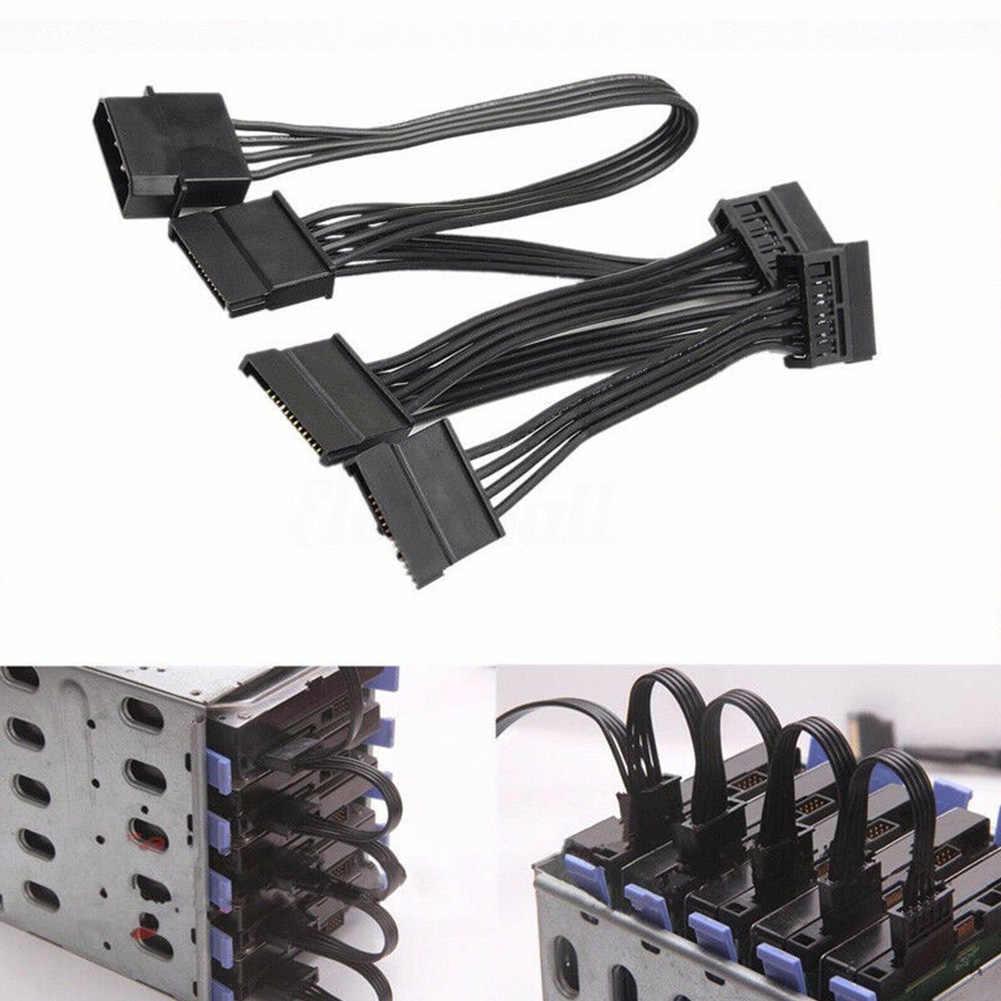 4 دبوس المهنية الطاقة مهائي كابلات الكمبيوتر الخائن القرص امدادات مستقرة SATA موصلات القرص الصلب تحويل IDE إلى SATA