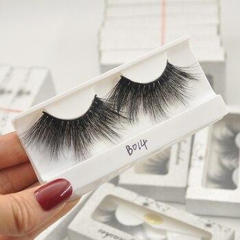 Wholesale Eyelashes mix of 50 Pairs 25mm 3D Mink Lashes  False Eyelashes Hand Made Makeup Eye Lashes 3D Mink Eyelashes Bulk