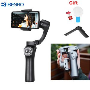 Image 2 - Benro P1/ p1s 3Axis Handheld Gimbal Smartphone Stabilizer for iPhone X Huawei P20 Samsung Gopro PK smooth 4 snoppa atom dji om4