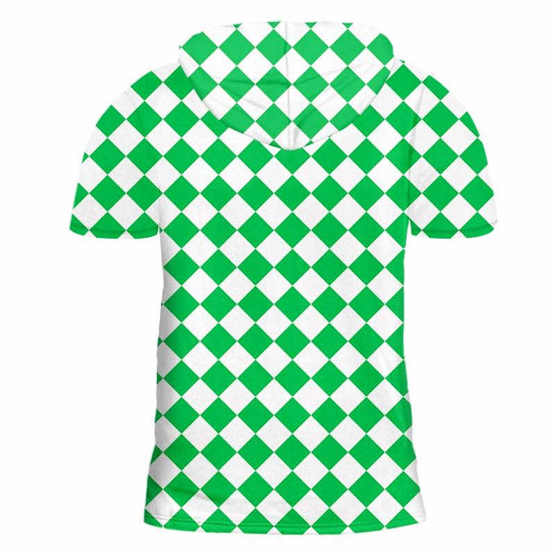 Купить ifpd eu/us размер летняя мужская футболка с капюшоном крутым