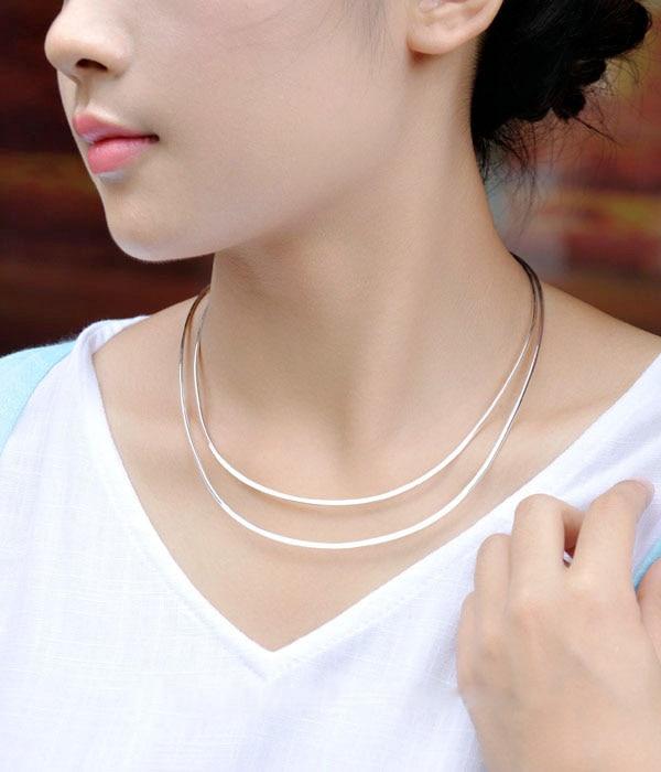 sa silverage s925 prata colar feminino prata 01