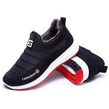 Мужские Теплые ботильоны; botas hombre; мужские плюшевые зимние кроссовки; водонепроницаемые теплые зимние ботинки; зимняя обувь