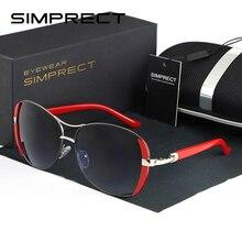 SIMPRECT Pilot Sunglasses Women 2020 UV400 Oversized