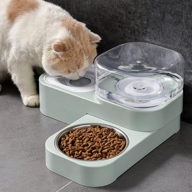 Kitten & Puppy Automatic Drinking & Feeding Station    1