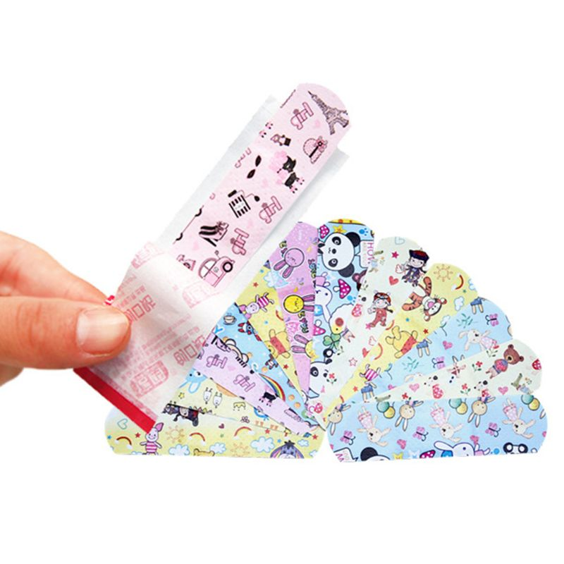 120 Pcs/box Cartoon Band-aid Cute Mini Children Breathable Waterproof Bandage Medical Ok Bandages Hemostatic Patch #905