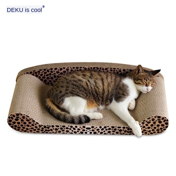 Cat Toys Cat Sofa Corrugated paper Cat Scratching Pad Durable Safe  Cat Game Exercise No Battery Needed