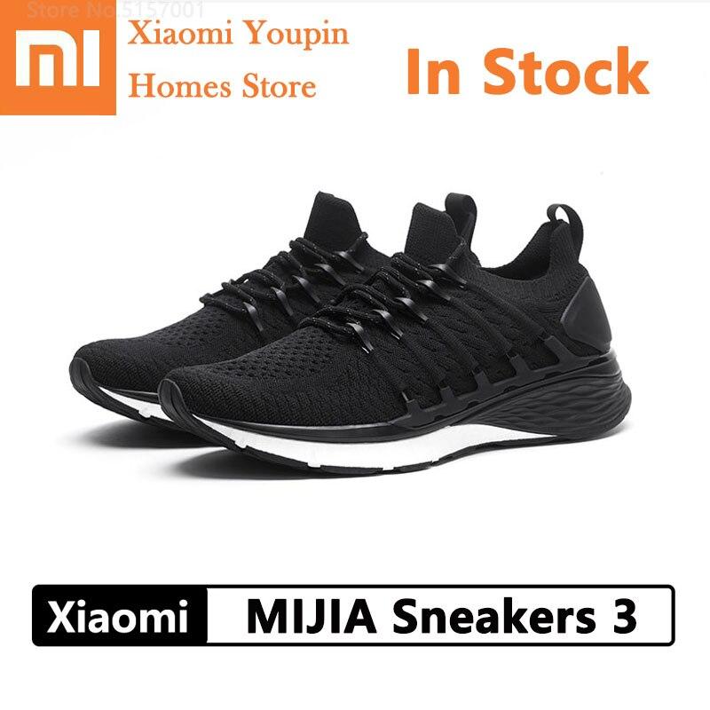 Tênis de Esportes ao ar Xiaomi Mijia Sapatos Masculino Livre Confortável Respirável Luz Tênis Goodyear Borracha pk 2 3 3th