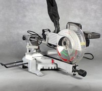 10 inch miter saw double slide bar saw with laser positioning