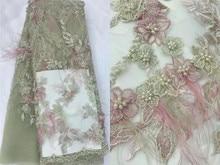 Seiko robe luxueuse en dentelle africaine brodée de plumes appliquées à la main, tissu en maille française, robe de mariage, Design de soirée, haut de gamme