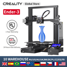Full Metal 3D Printer DIY Ender 3/Ender 3X CREALITY Printer Kit With Plus Print Size 220*220*250mm With Free Shipping