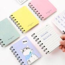 Cartoon notebook animal planner Kawaii bullet journal cactus agenda 2020 sketchbook caderno diary papelaria agendas