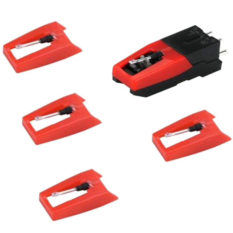 Vinyl Record Player Turntable <font><b>Cartridge</b></font> with Universal Replacement Stylus Needles for <font><b>LP</b></font> Phonograph Record Player for Crosley Io image