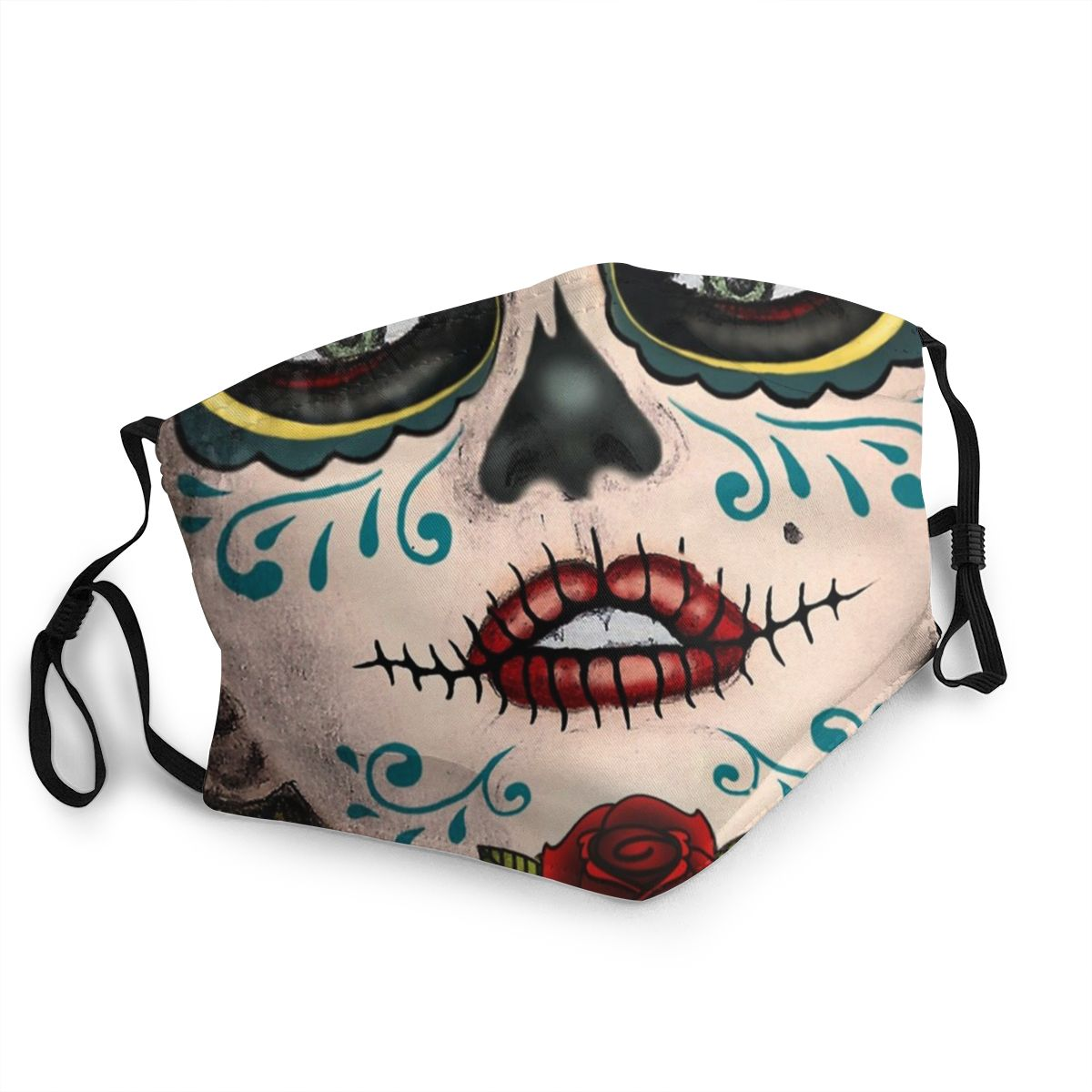 Catrina Lips Adult Non-Disposable Mouth Face Mask Anti Haze Dust Protection Cover Respirator