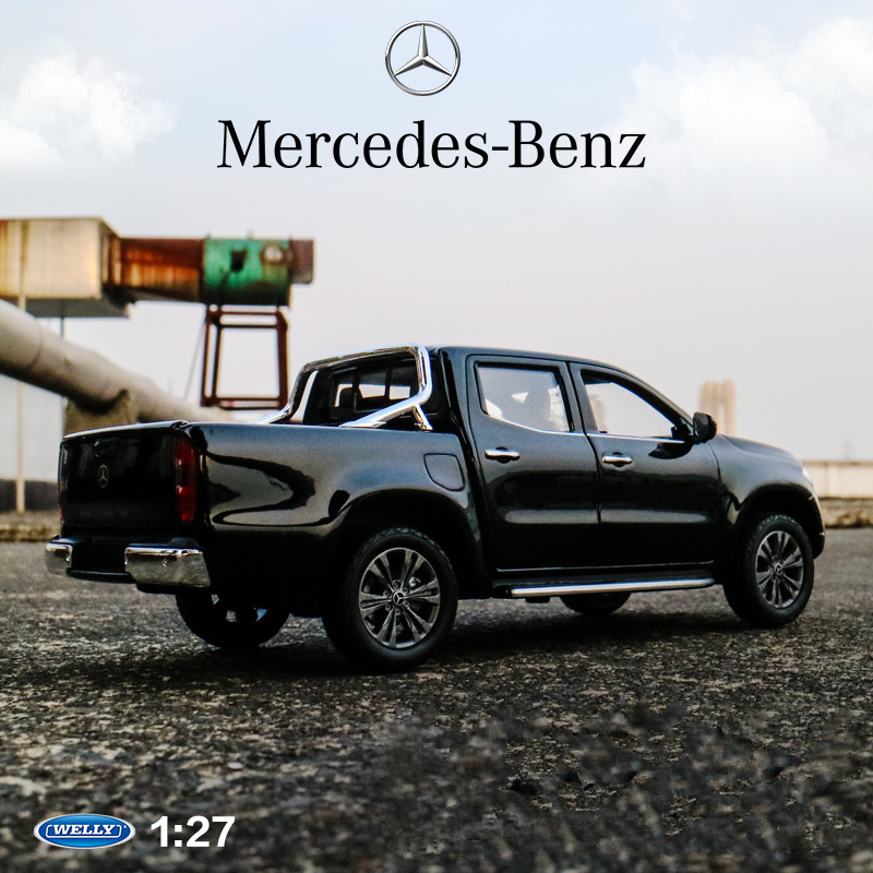 Welly 1:24  Mercedes X-Class Pickup   Car Alloy Car Model Simulation Car Decoration Collection Gift Toy Die Casting Model Boy