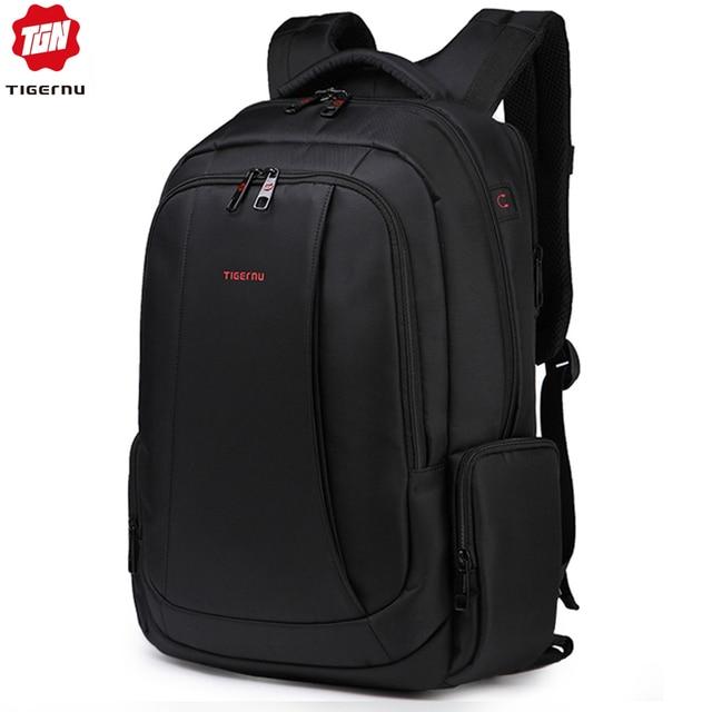 Tigernu 15.6inch Mini Anti theft Laptop Backpack Male Waterproof  Men's Backpacks Bag Women's Casual School Backpacks for teens