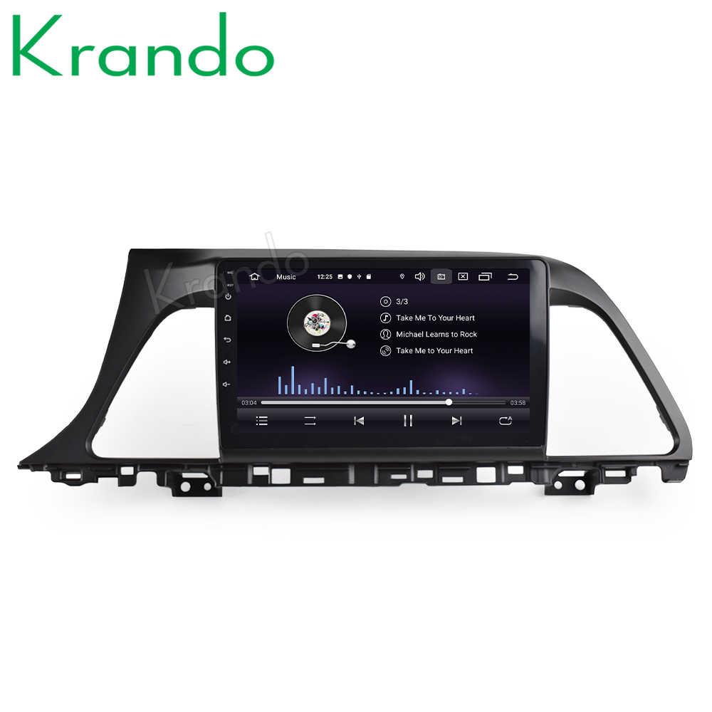 """Krando 2 + 32 グラムアンドロイド 9.0 9 """"IPS フルタッチ大画面車マルチメディア現代ソナタ LF 2015-2017 GPS プレーヤーなし 2din"""