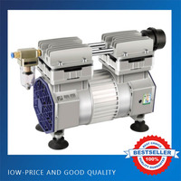 Electric Non oil Air Vaccum Pump 90L/min School Laboratory Air Conditioning Pump Without Filter