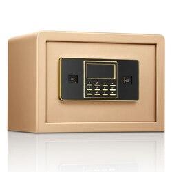 Коробка безопасности, противоугонная электронная банка для хранения, для хранения денег, для хранения ювелирных изделий, для дома, офиса, бе...