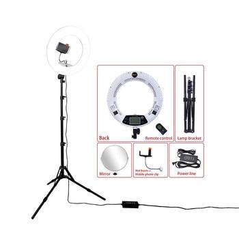 "Yidoblo White FE-480II 5500K Dimmable Camera Photo/Studio/Phone/Video 18"" 96W 480 LED Ring Light LED Lamp+200cm tripod +Bag Kit"