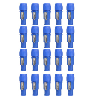 10/20 Adet 250V 3 Pin Hoparlör şasi Adaptör PowerCon Konektörü NAC3FCA 20A AC Kablosu Speak-ON Konektörü Powercon Erkek Fiş