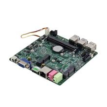 Intel Core i7-6500U Mini ITX Embedded Motherboard DDR4 mSATA SATA HDMI VGA 6 * USB Gigabit LAN Mini PCI-E WiFi BT MIC SPK 12V 5A