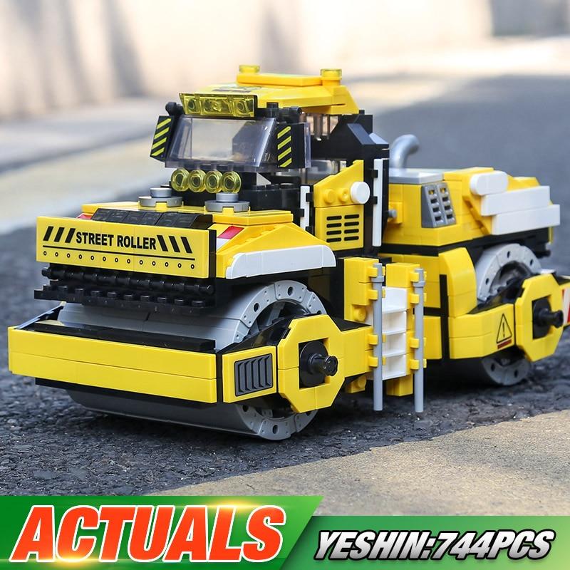 Yeshin 20007 The Excavator Bulldozer Crane Engineering Roller Dump TrucK
