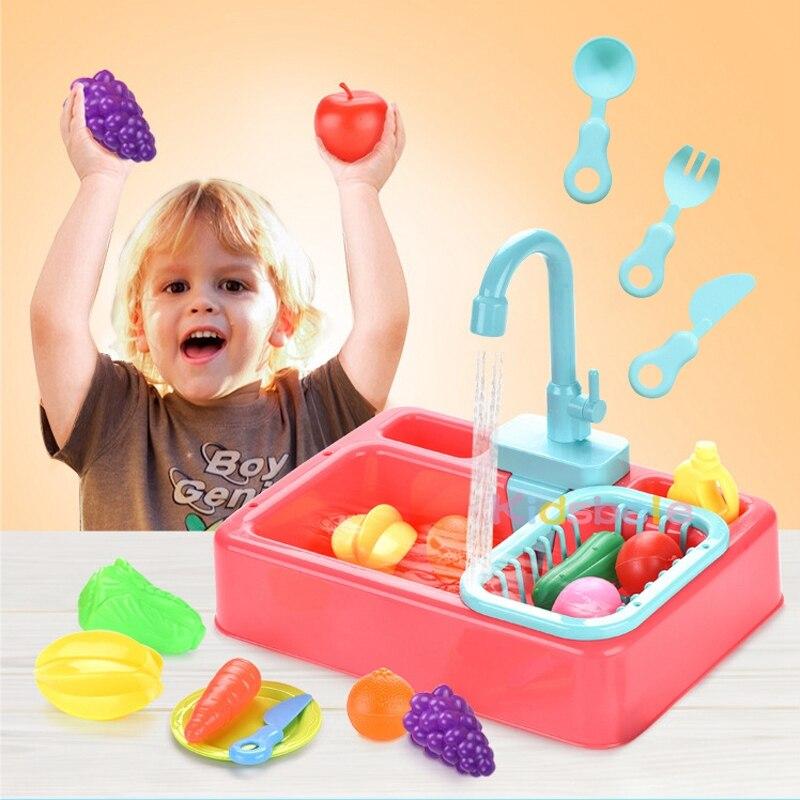 מטבח לילדים עם מים זורמים 6