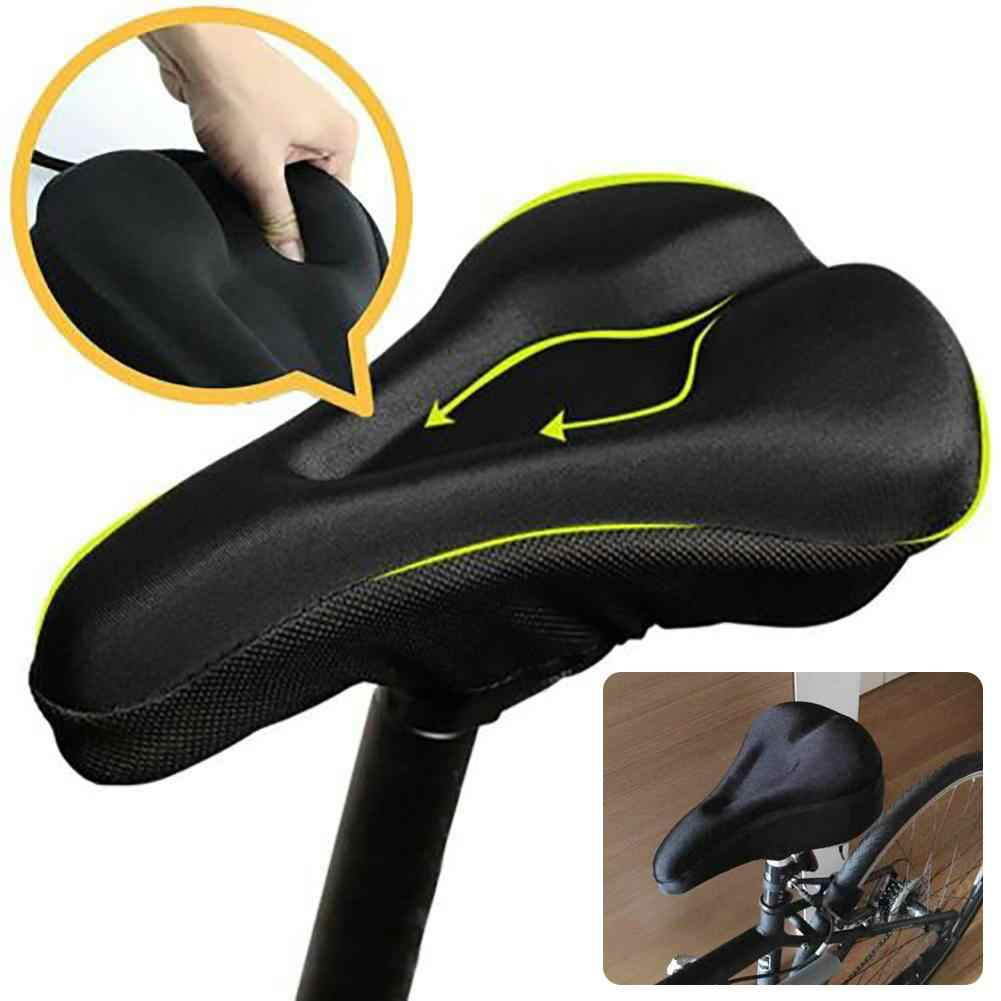 MTB Bike Extra comfortable Gel Cushion Cover Pad Bicycle Cycle for Saddle Seat