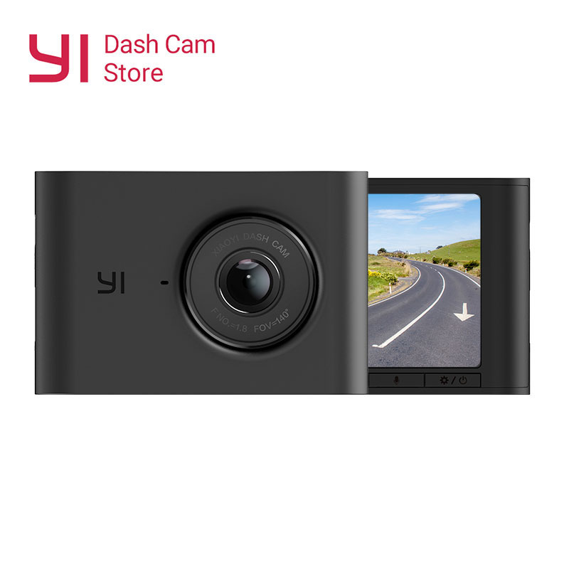 NEW YI Nightscape Dash Camera 2.4'' LCD Screen 1080P HD ADAS 140 Wide Angle Lens Night Vision Car DVR Dashboard Camera Vehicle-in DVR/Dash Camera from Automobiles & Motorcycles