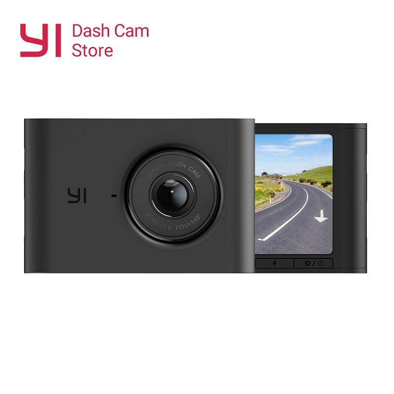 NEW YI Nightscape ADAS Traço Camera 2.4 ''LCD 1080P Tela HD 140 Lente Grande Angular de Visão Noturna Carro DVR Da Câmera do Painel Do Veículo