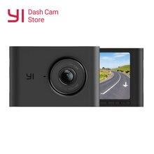 YI Cámara de salpicadero con visión nocturna para coche, lente gran angular de 2,4 pulgadas, pantalla LCD de 1080P HD 140, DVR, para salpicadero de coche