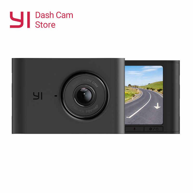 Новый YI Nightscape Dash камера 2,4 ''ЖК-экран 1080P HD ADAS 140 широкоугольный объектив ночного видения Автомобильный видеорегистратор приборная панель камера для автомобиля