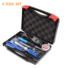 Portable Electric Soldering Iron Tool Set DIY Combination Maintenance Household Combination Kit