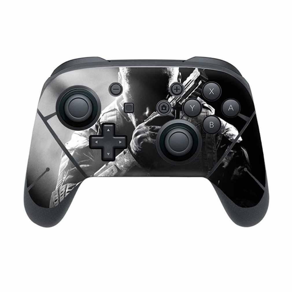 N-KNSPRO-0002 Full Set Faceplate Skin Decal Stickers Protector Wrap Skin Decal for Nintend Switch PRO handle sticker