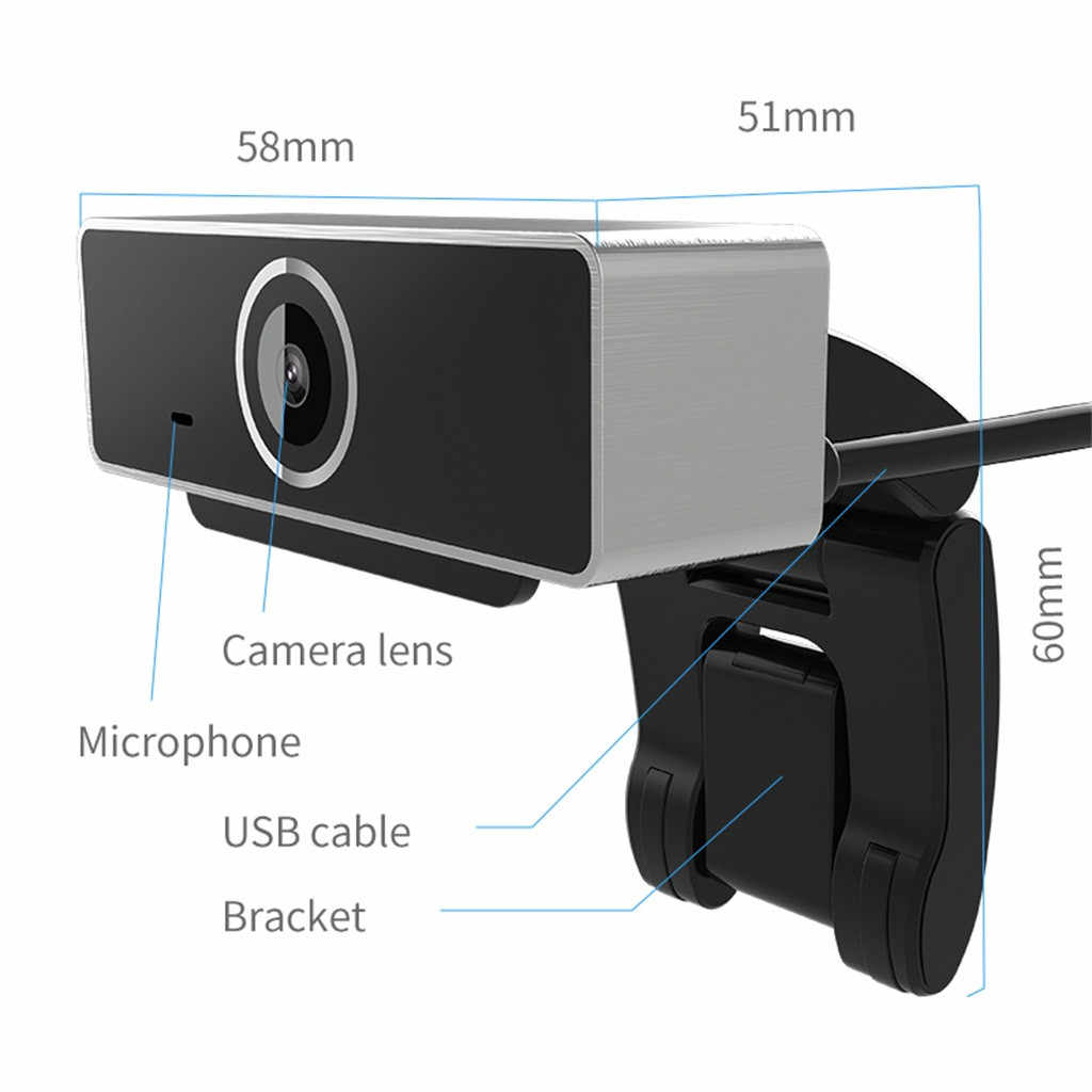 HD 1080P веб-камера Мини компьютер ПК веб-камера с микрофоном камеры для прямой трансляции видео вызова Конференции работы Z0513