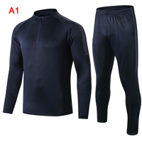 France Men Training Soccer Sports Jersey Jacket Tracksuit Sets Football Costumes FI 19ING