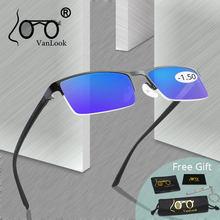 Lunettes d'ordinateur blocage de la lumière bleue | Lunettes de Gamer hommes de qualité, lunettes de myopie pour myopie, lunettes myopie-1-1.25-1.75 -2.25 -2.75