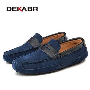 Image 3 - Dekabr Plus Size 47 Lente Zomer Casual Schoenen Mannen Ademende Mannelijke Slip Op Schoeisel Loafers Designer Mannen Schoenen Sapatos Homens