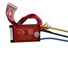 separated 10S 36V 15A  BMS Protection Circuit Board for 3.7V  Li ion Battery